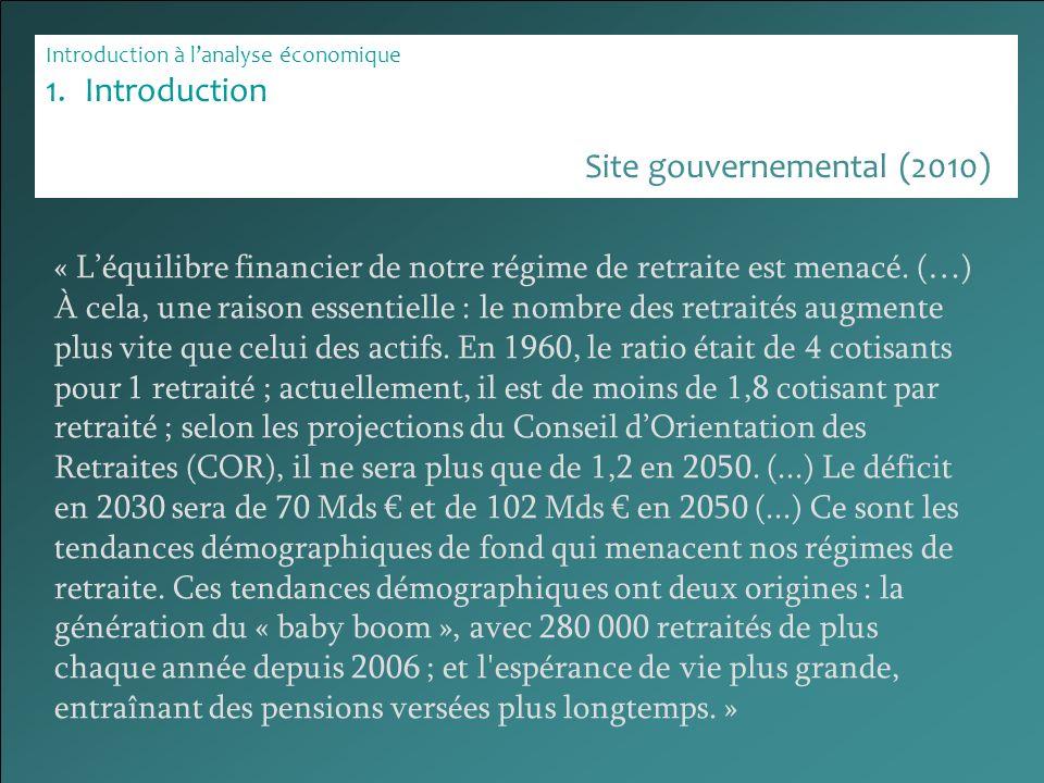 Site gouvernemental (2010)