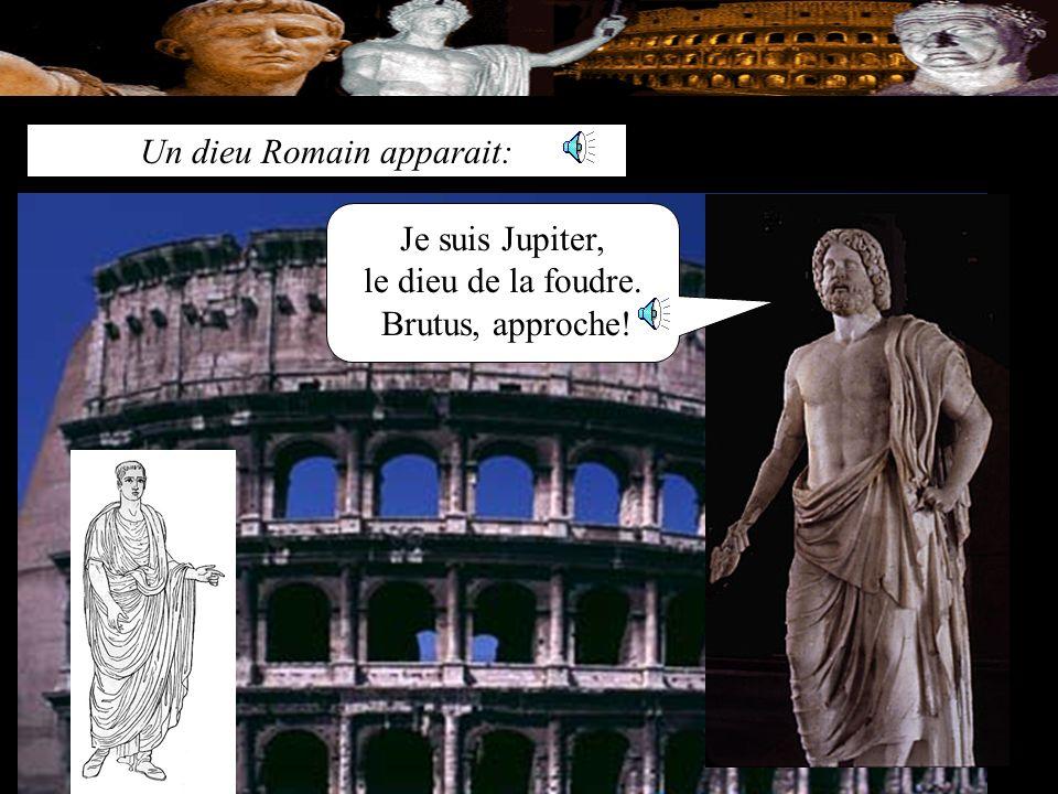 Dieu Romain Un dieu Romain apparait:
