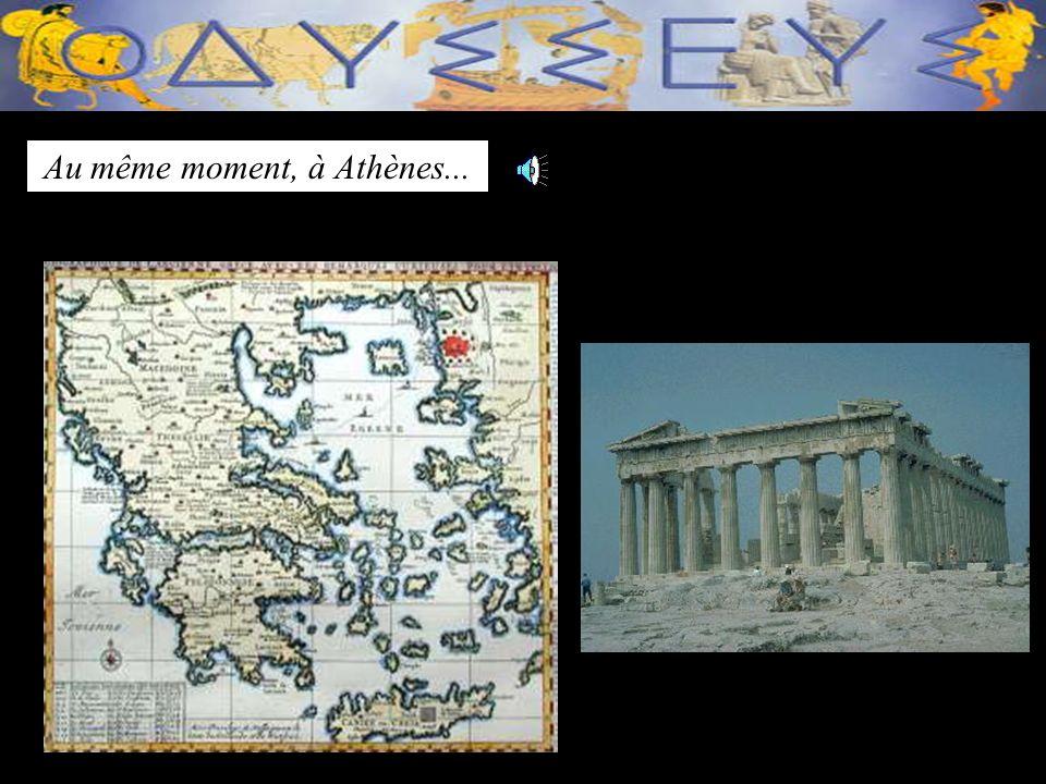 Au même moment, à Athènes...