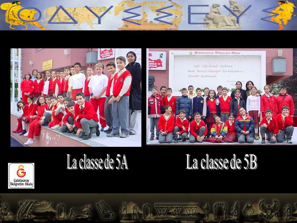 La classe de 5A La classe de 5B