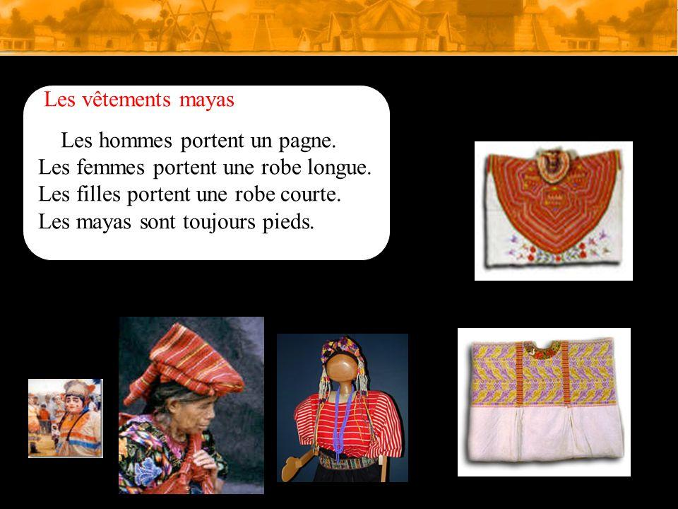 Les vêtements mayas