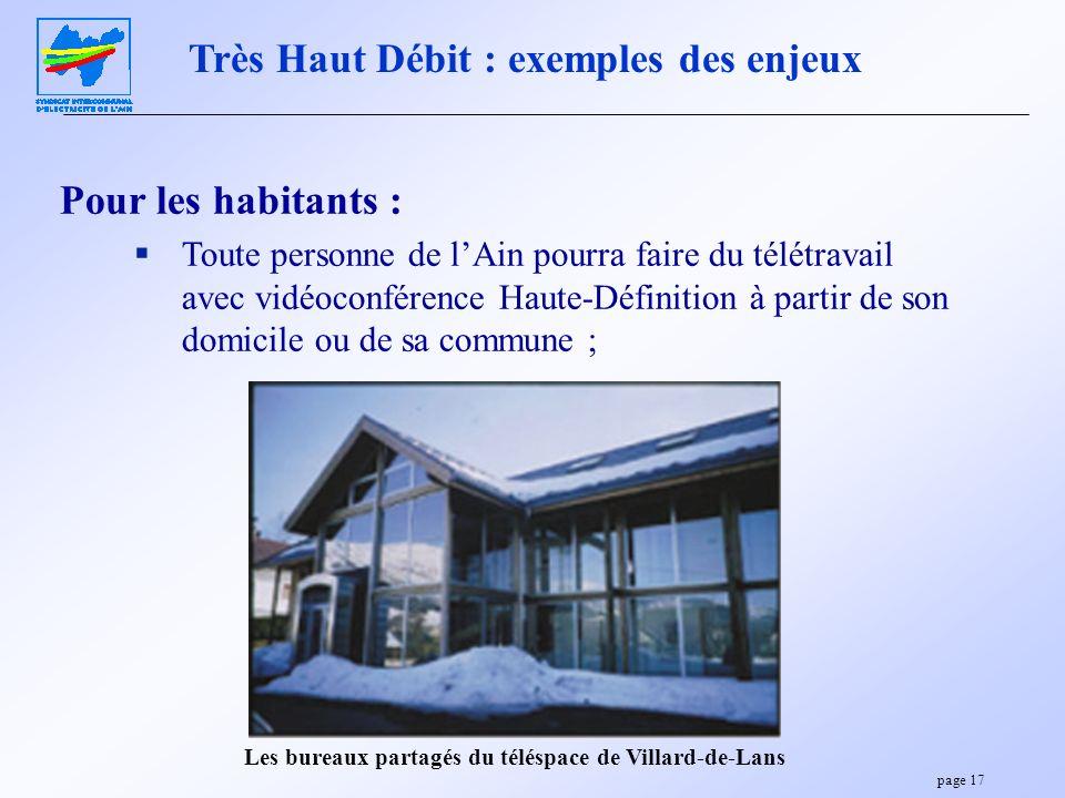 Les bureaux partagés du téléspace de Villard-de-Lans