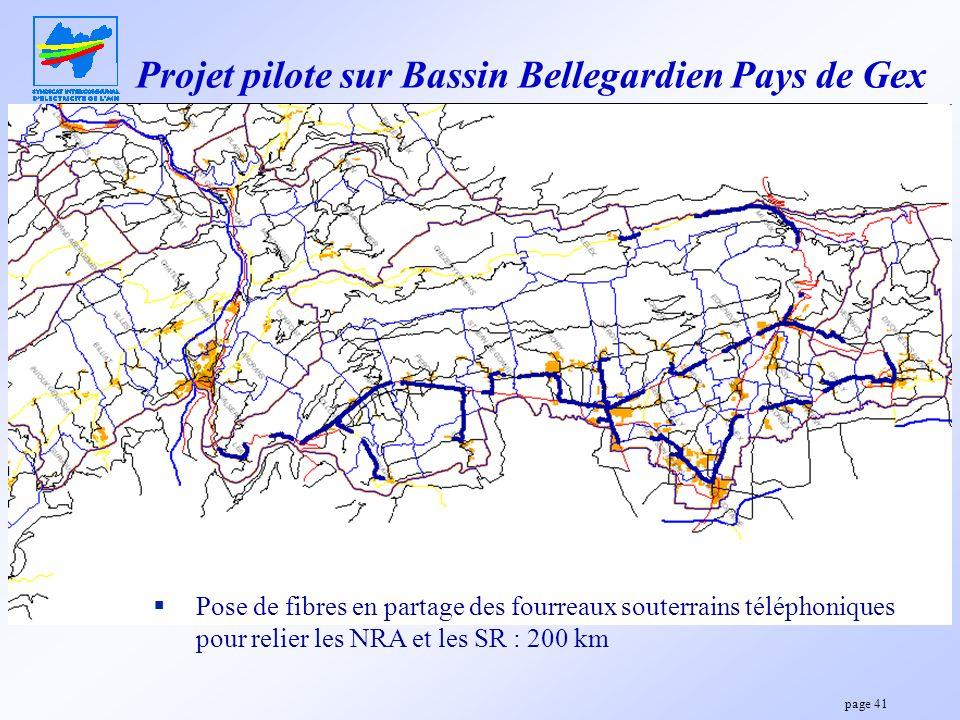 Projet pilote sur Bassin Bellegardien Pays de Gex