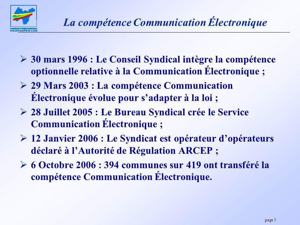 La compétence Communication Électronique