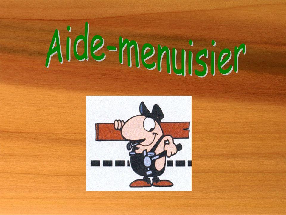 Aide-menuisier