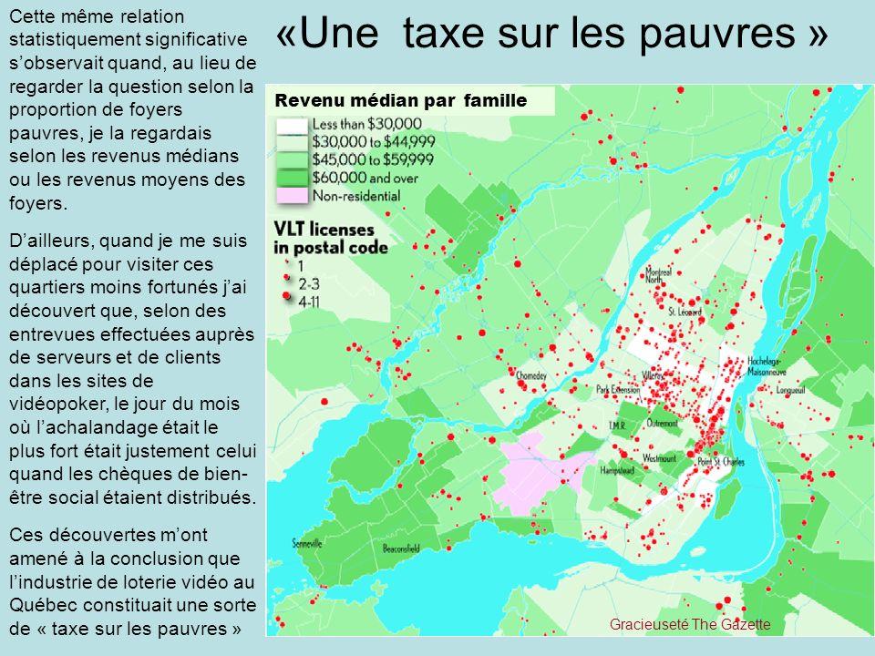 «Une taxe sur les pauvres »