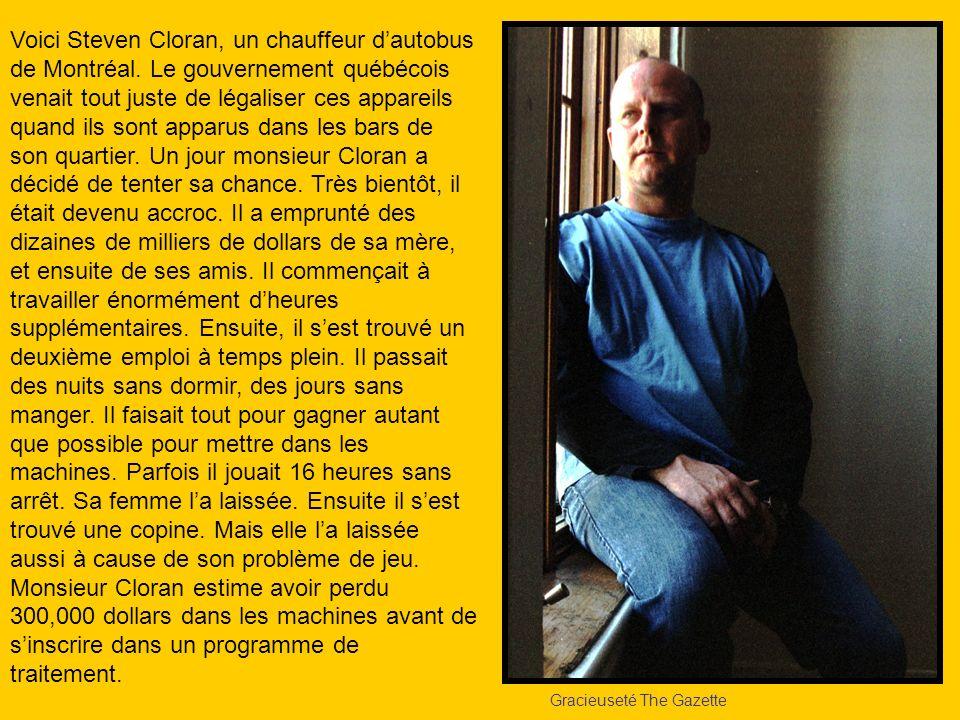 Voici Steven Cloran, un chauffeur d'autobus de Montréal