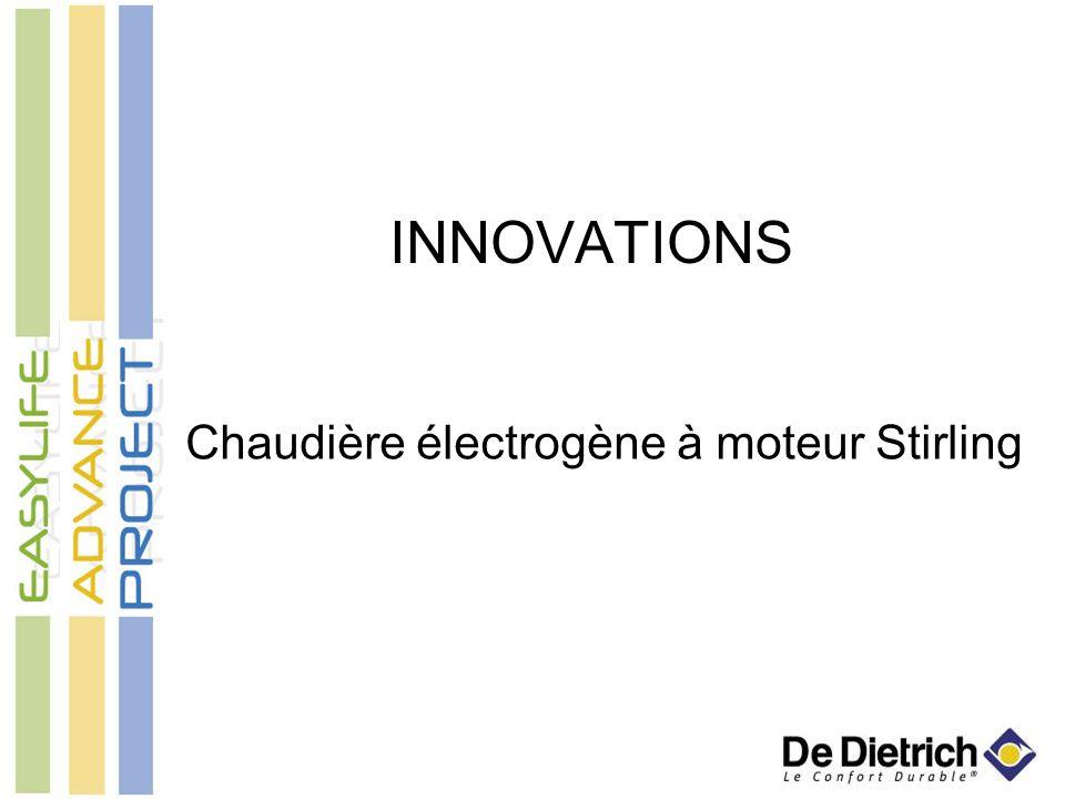 Chaudière électrogène à moteur Stirling