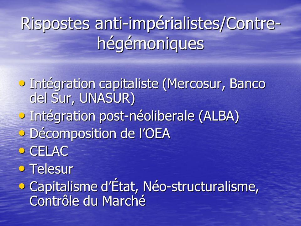 Rispostes anti-impérialistes/Contre- hégémoniques