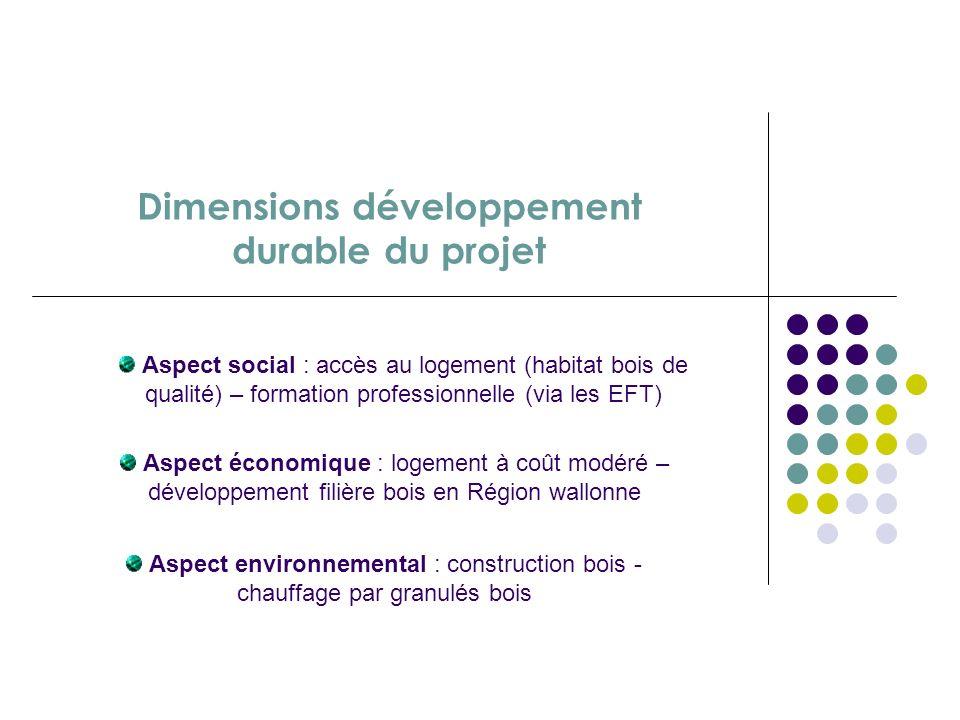Dimensions développement durable du projet