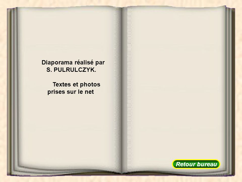 Textes et photos prises sur le net