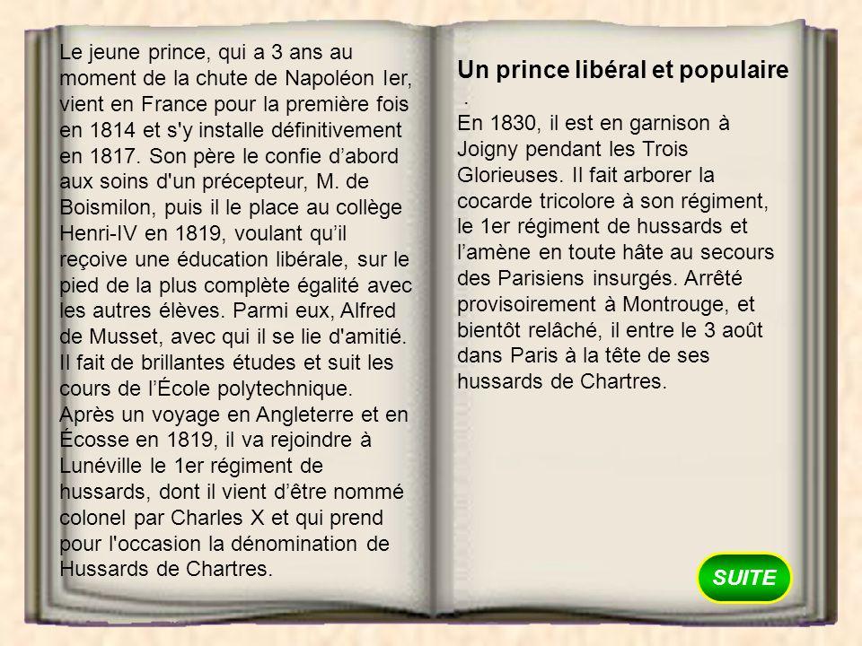 Un prince libéral et populaire