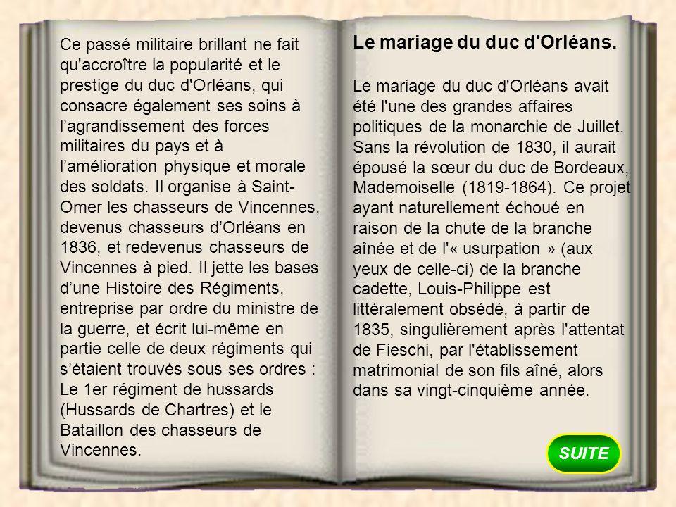 Le mariage du duc d Orléans.