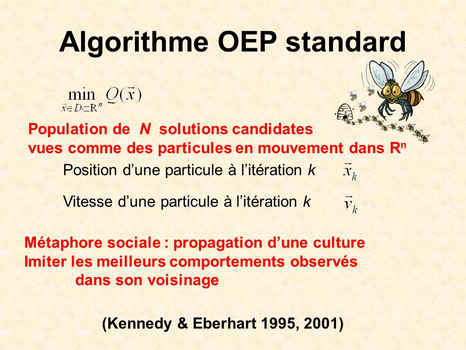 Algorithme OEP standard
