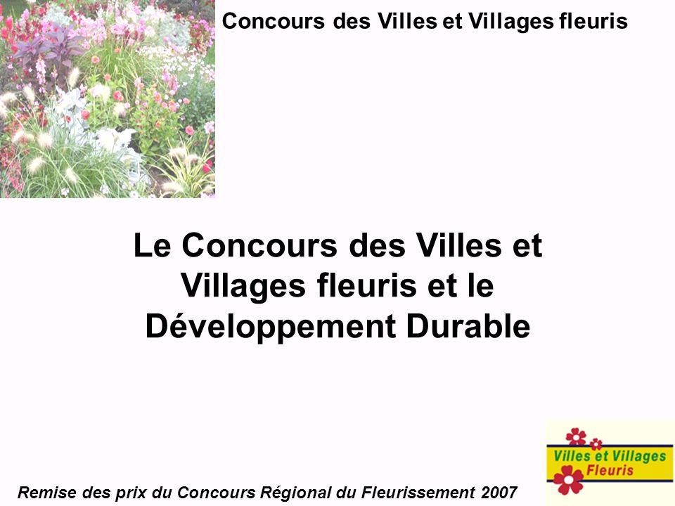 Concours des Villes et Villages fleuris