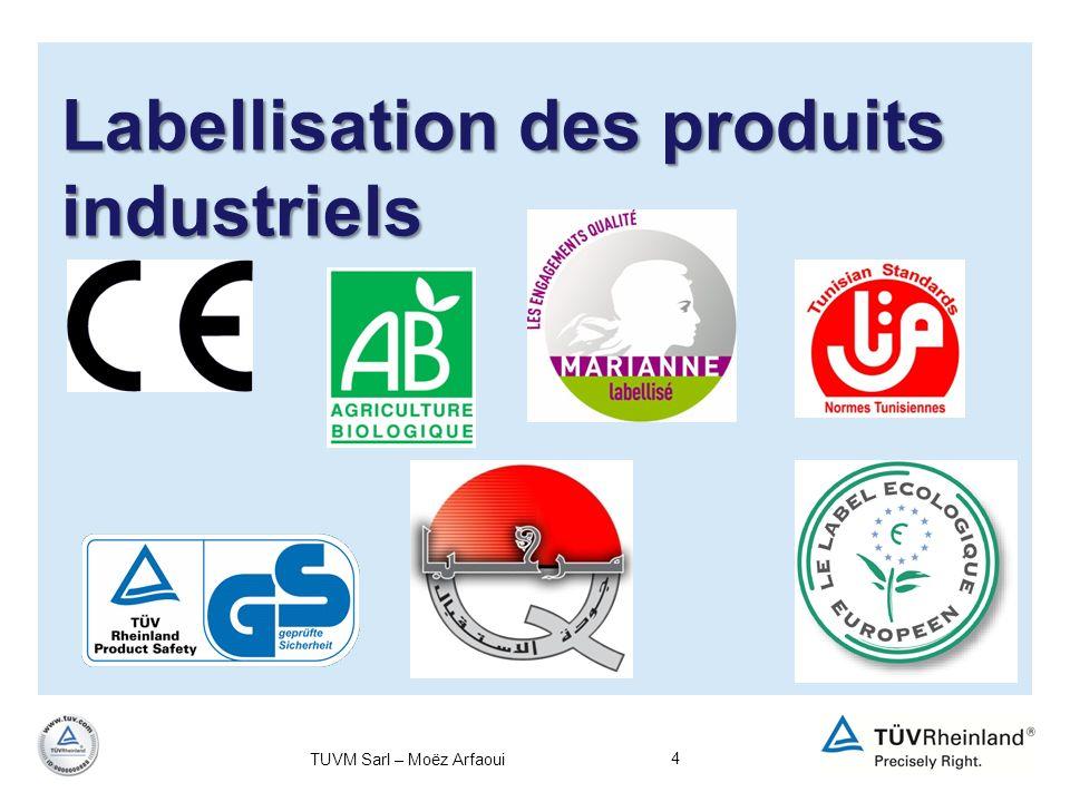 Labellisation des produits industriels