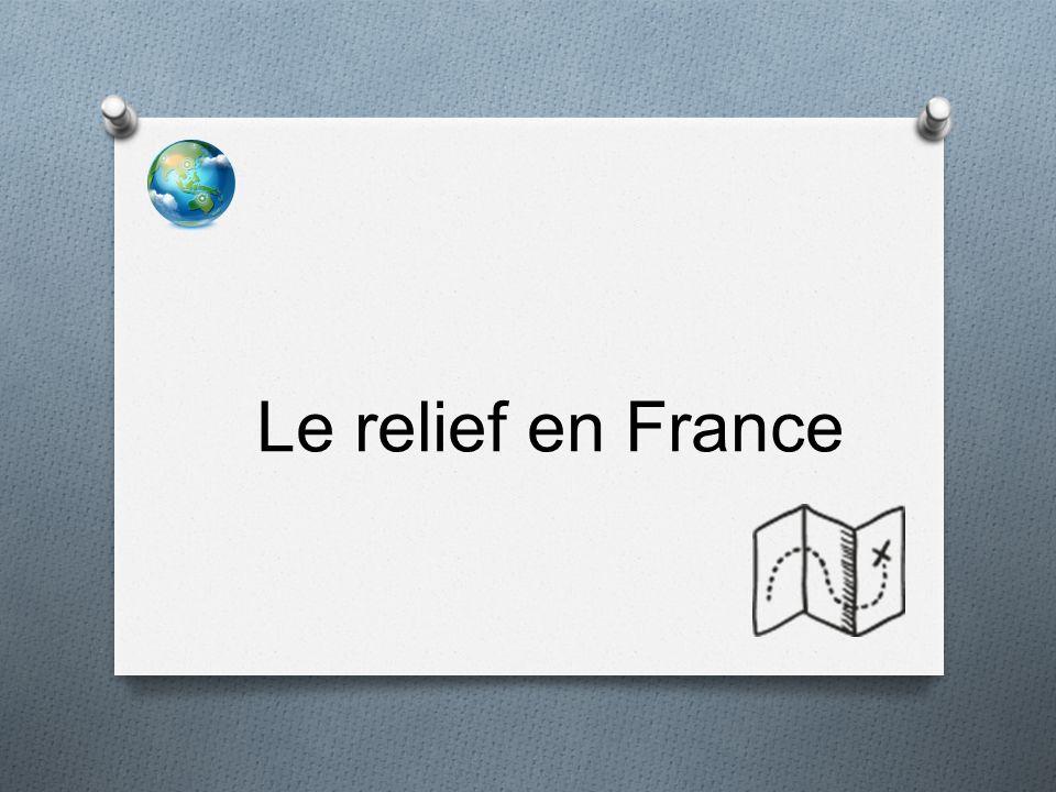 Le relief en France