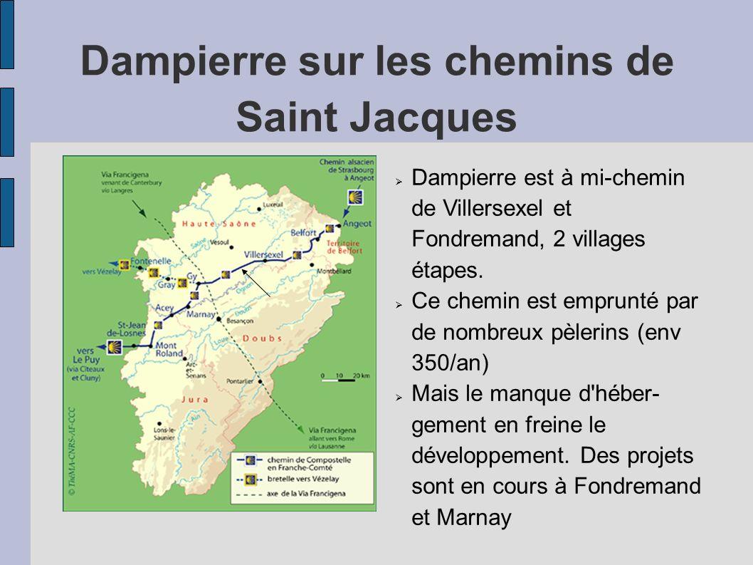 Dampierre sur les chemins de Saint Jacques