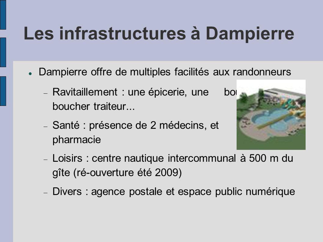 Les infrastructures à Dampierre