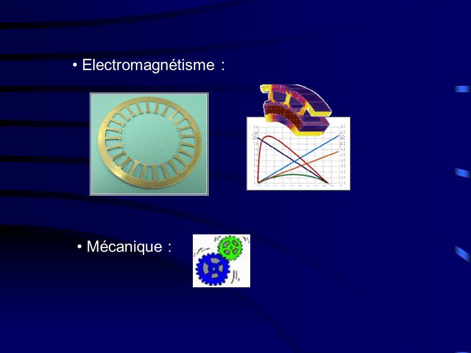 Electromagnétisme : Mécanique :