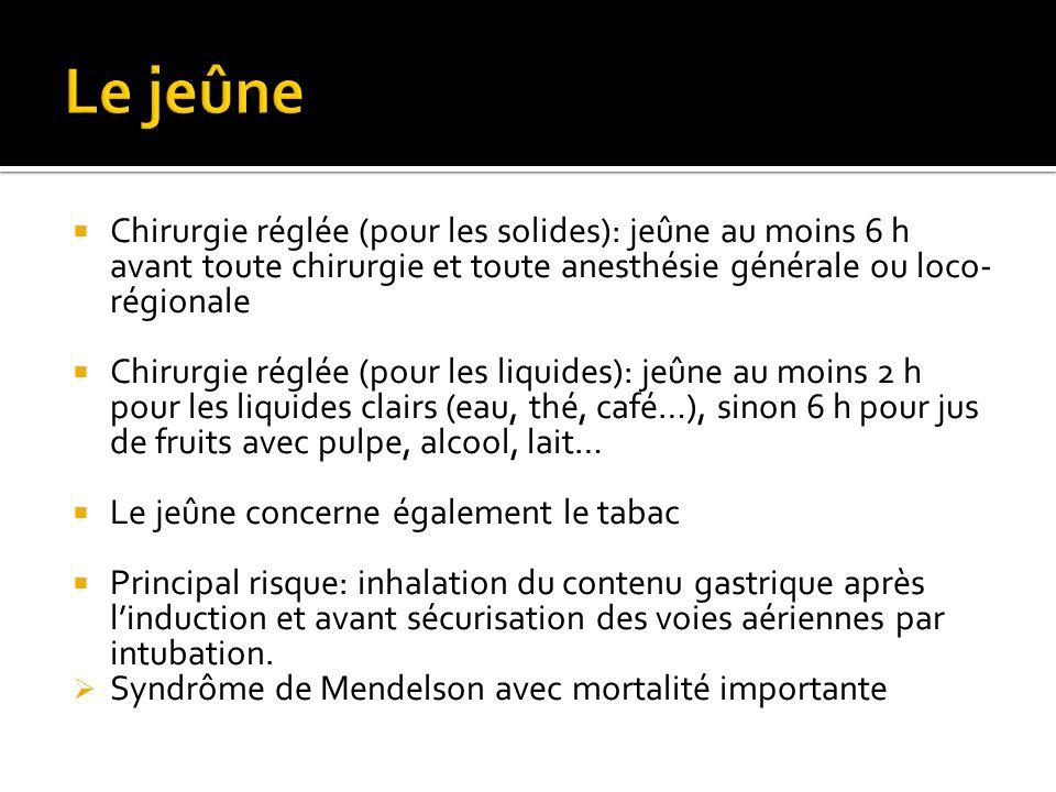 Module 6 Item 67 Anesthésie générale, locale et loco