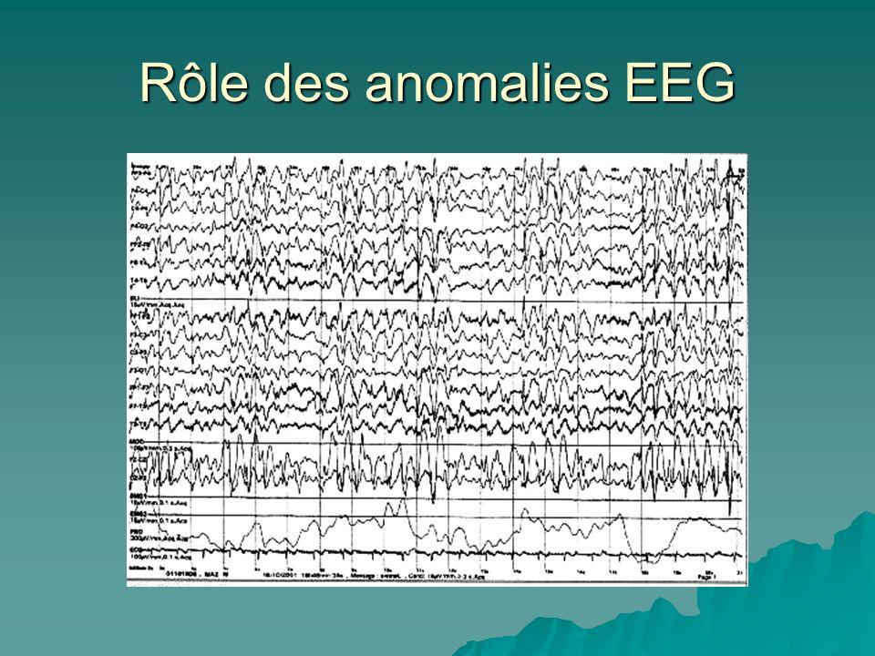 Rôle des anomalies EEG
