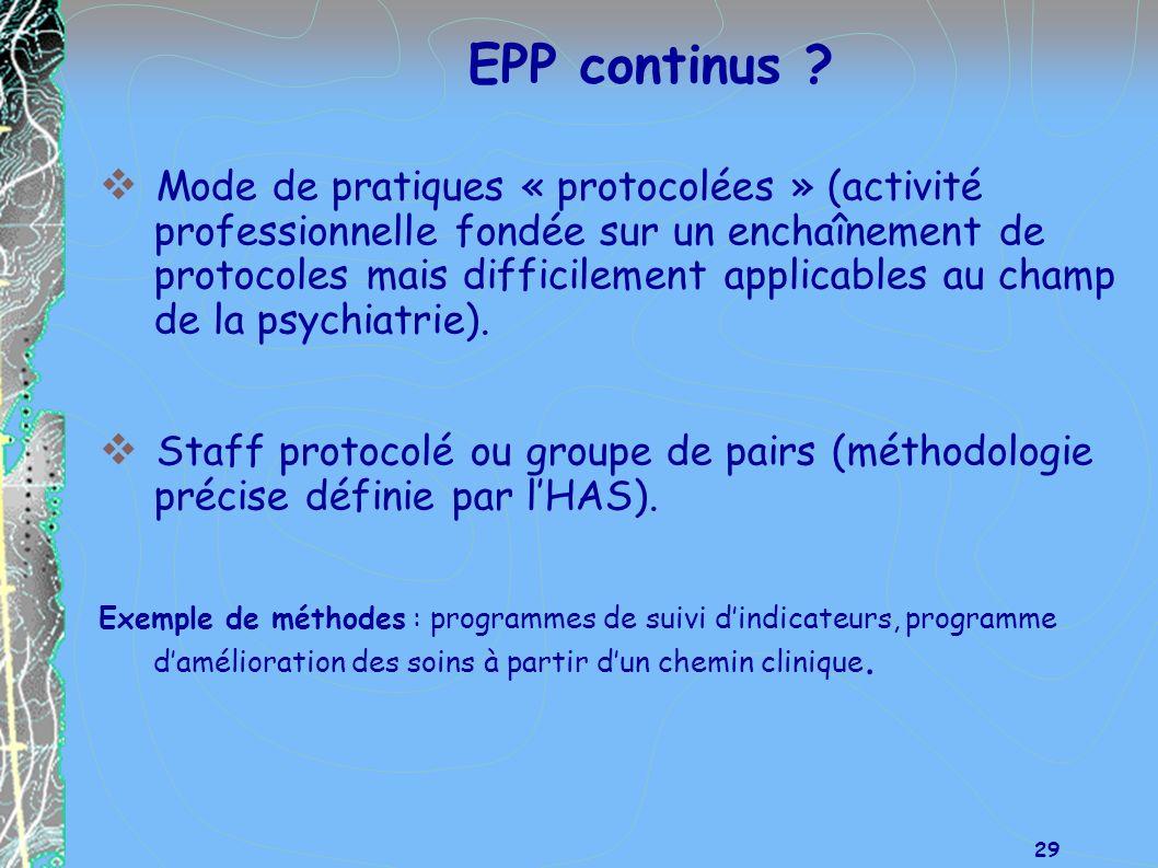 EPP continus