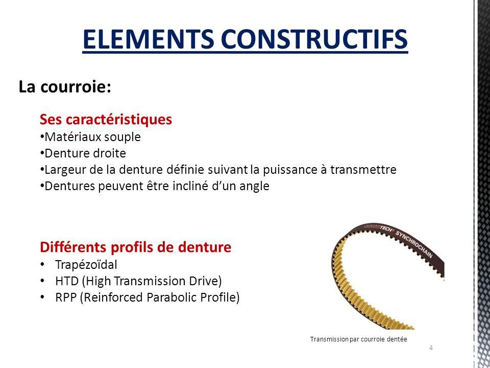 ELEMENTS CONSTRUCTIFS