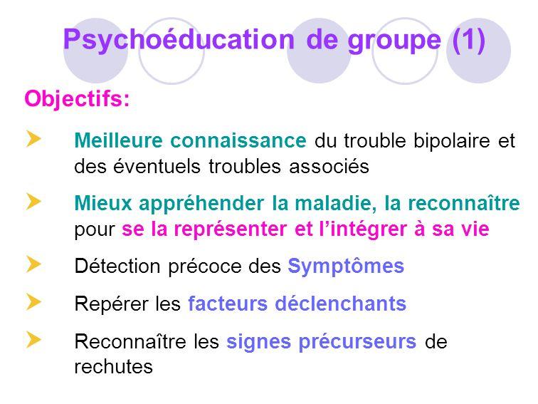 Psychoéducation de groupe (1)
