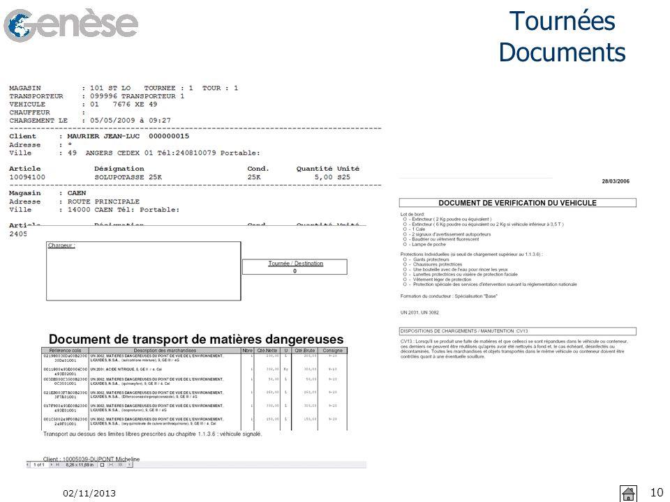 Tournées Documents 22/03/2017