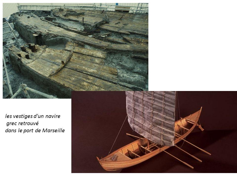 les vestiges d un navire