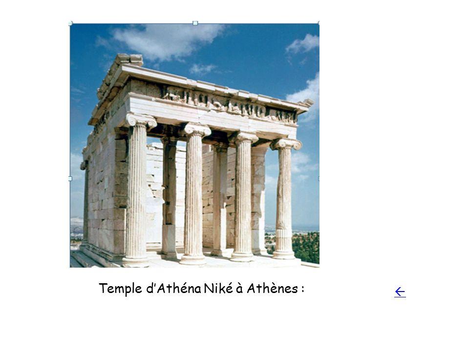 Temple d'Athéna Niké à Athènes :