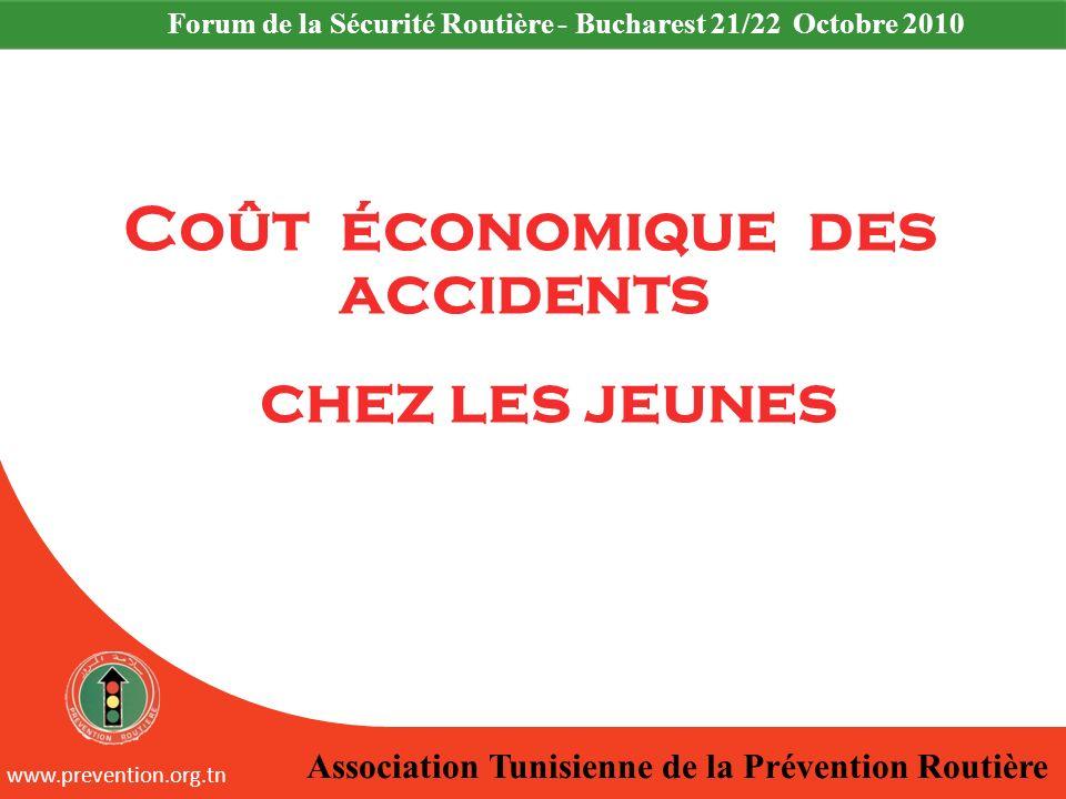 Coût économique des accidents