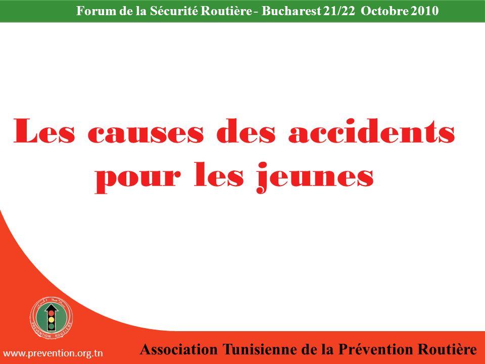 Les causes des accidents pour les jeunes