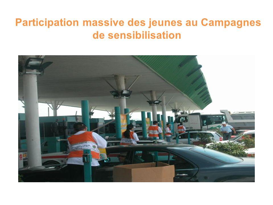 Participation massive des jeunes au Campagnes