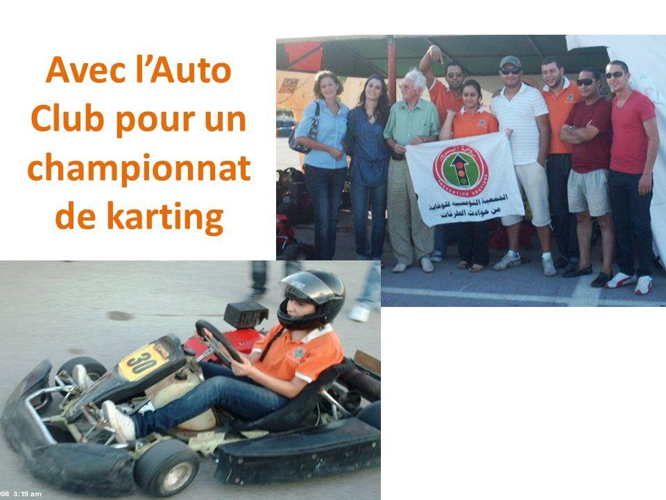 Avec l'Auto Club pour un championnat de karting