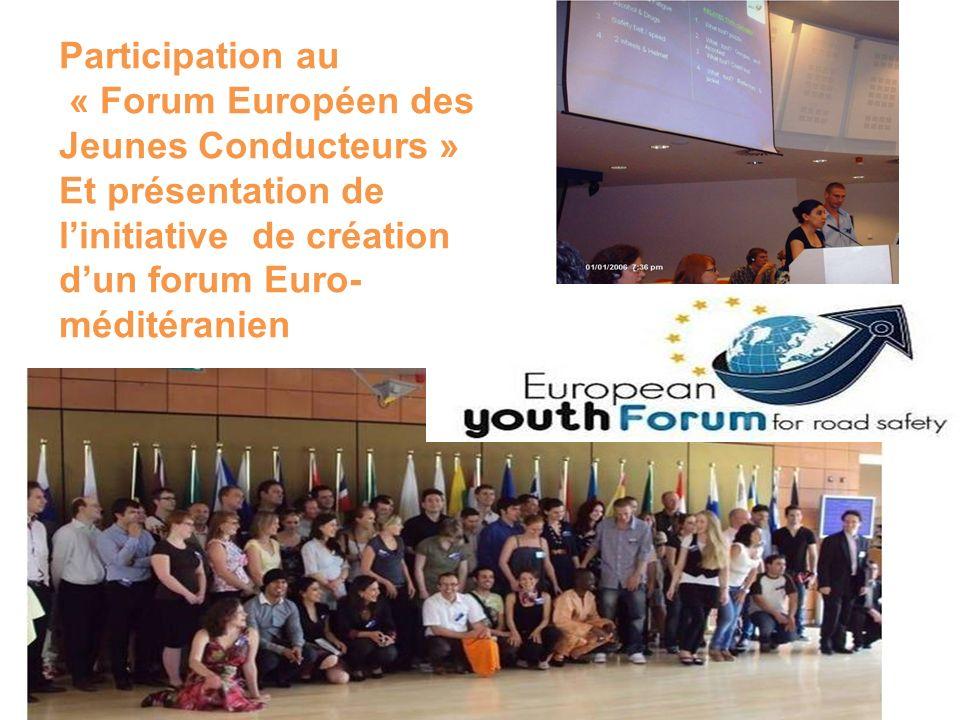 « Forum Européen des Jeunes Conducteurs »