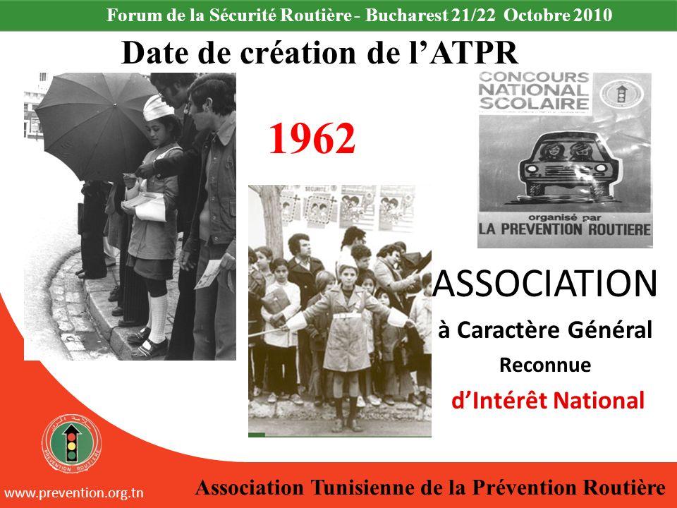 Date de création de l'ATPR
