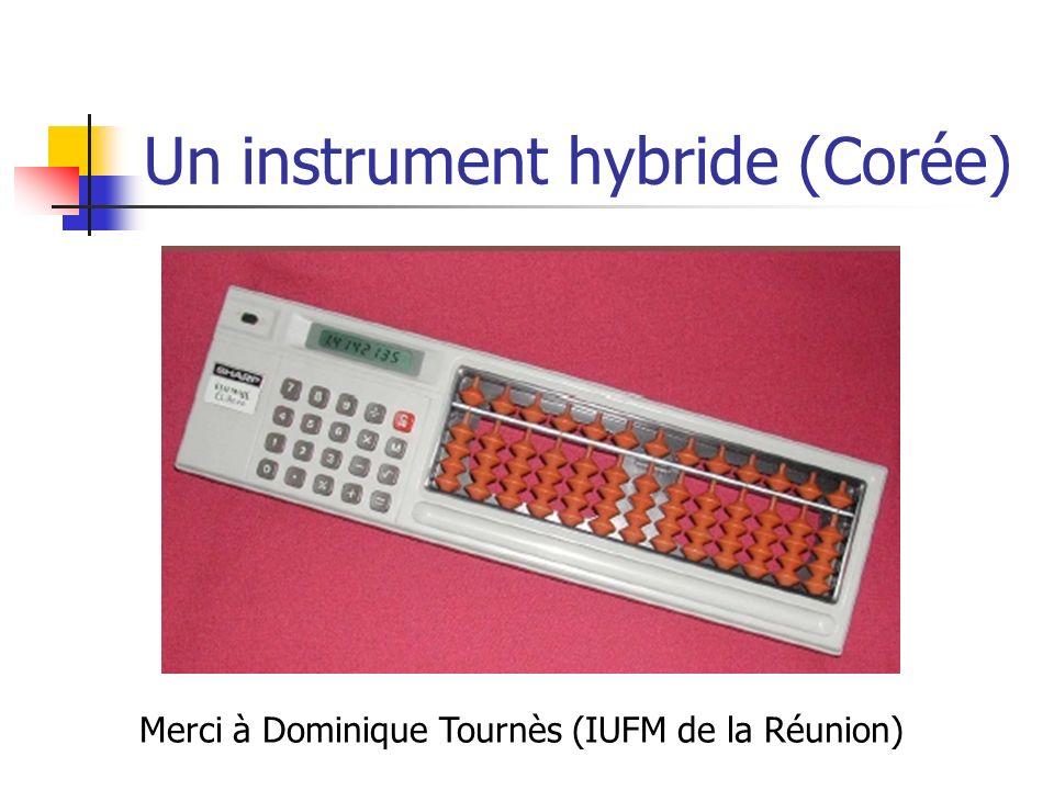 Un instrument hybride (Corée)