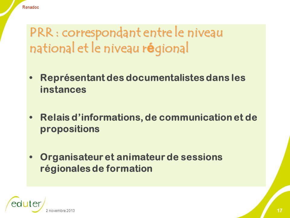 PRR Personne ressource régionale