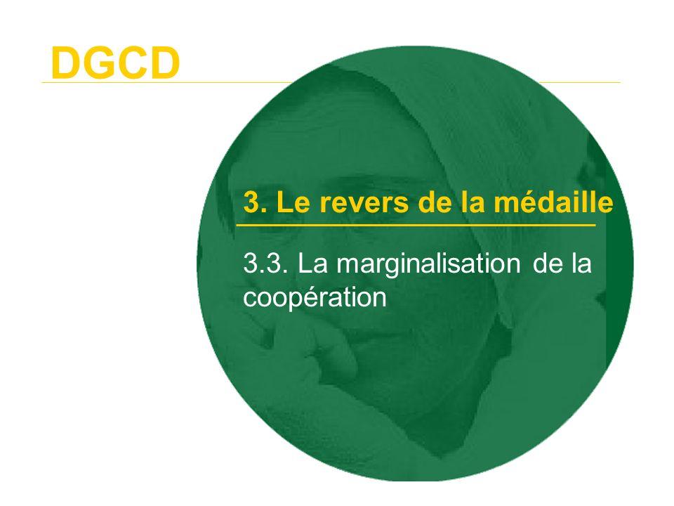 3.3. La marginalisation de la coopération