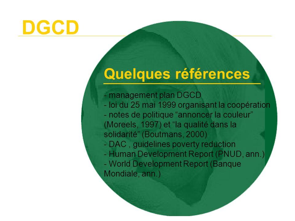 DGCD Quelques références