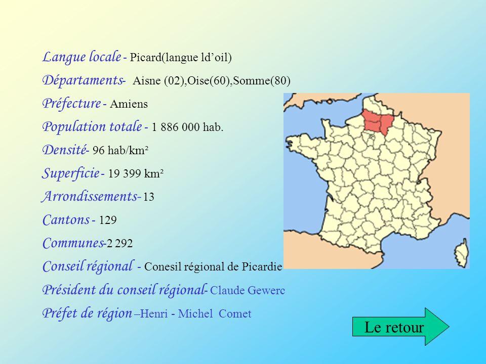 Langue locale - Picard(langue ld'oil)