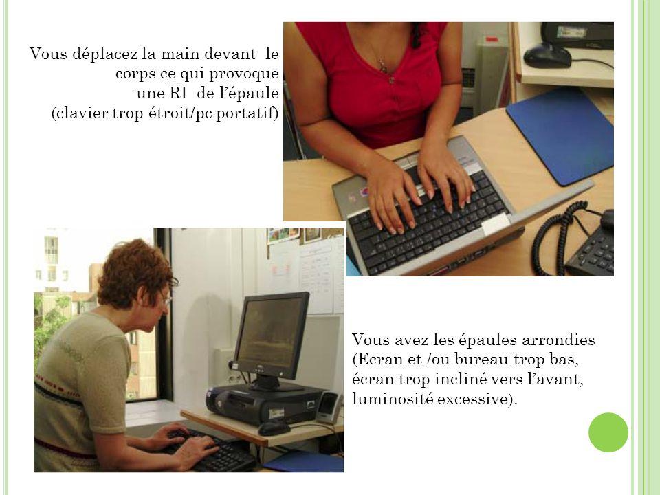 ergonomie du poste de travail et troubles musculosqueletiques ppt t l charger. Black Bedroom Furniture Sets. Home Design Ideas