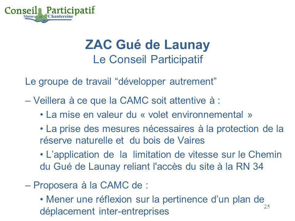 ZAC Gué de Launay Le Conseil Participatif