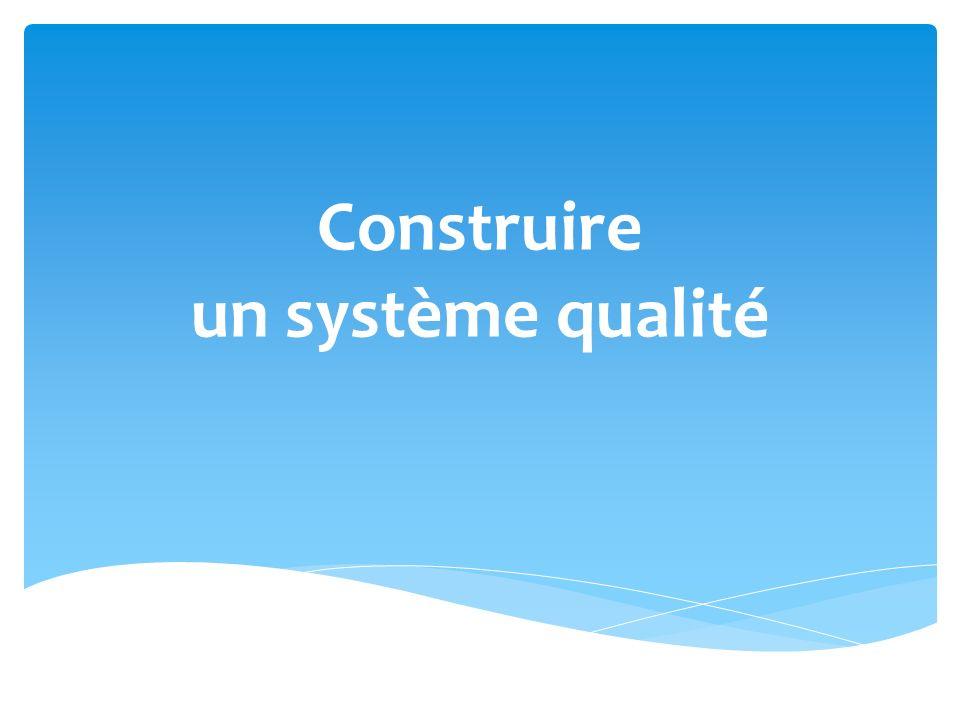 Construire un système qualité