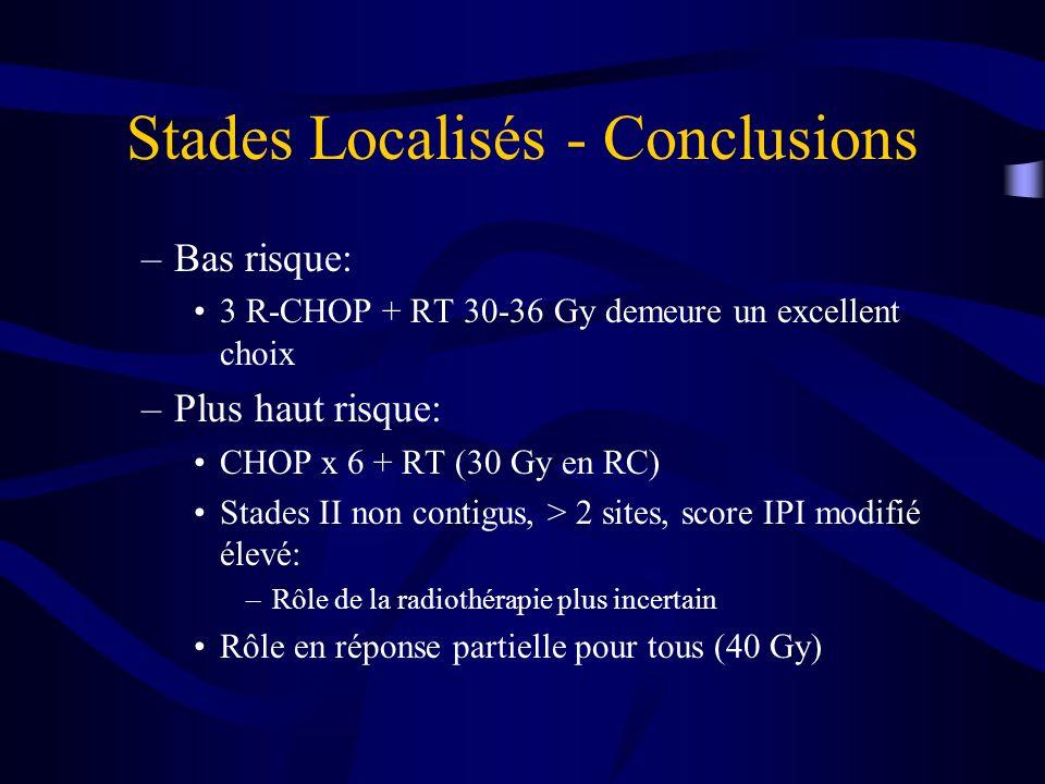 Stades Localisés - Conclusions