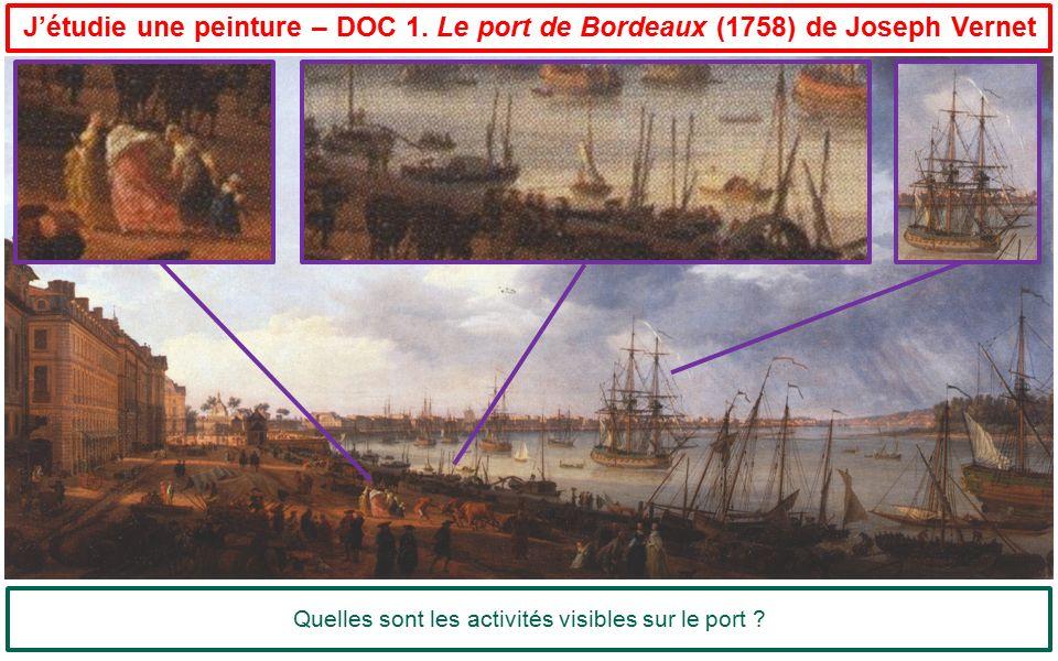 Quelles sont les activités visibles sur le port