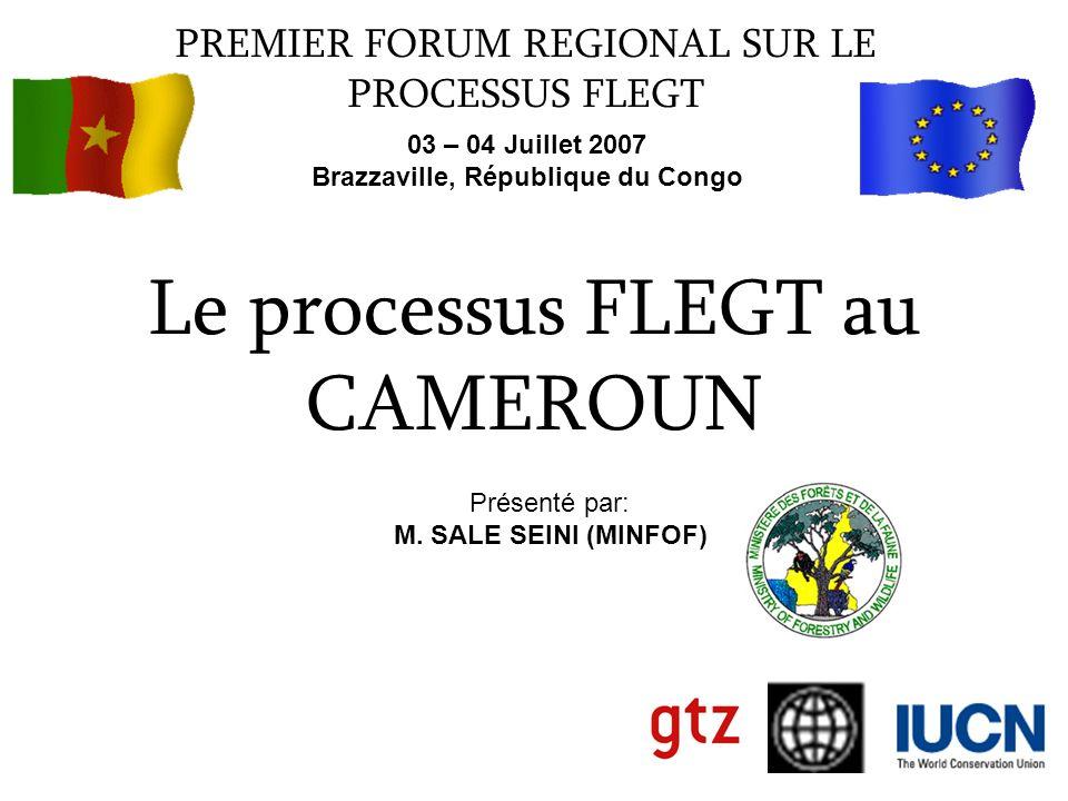 Le processus FLEGT au CAMEROUN