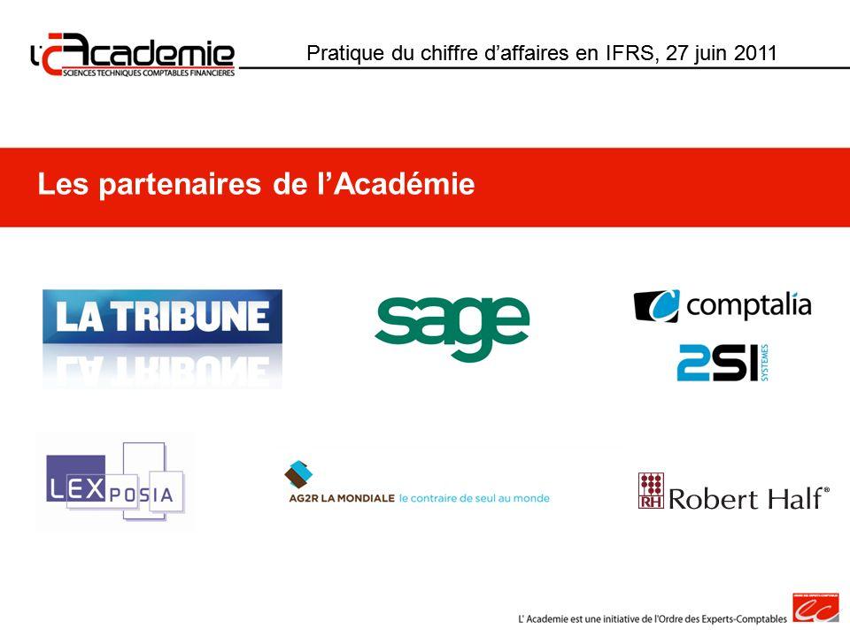 Les partenaires de l'Académie